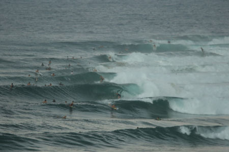 WAVES from CYCLONE WINSTONE at SNAPPER ROCKS