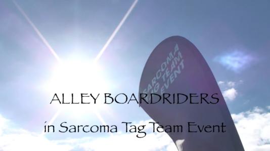 ALLEY BOARDRIDERS in Sarcoma Surf Tag