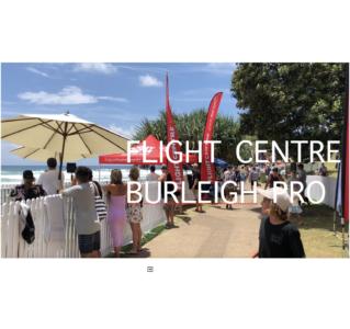 FLIGHT CENTRE BURLEIGH PRO