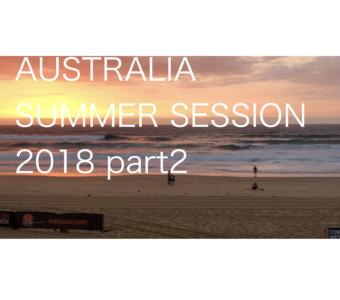 AUSTRALIA SUMMER SESSION PART2